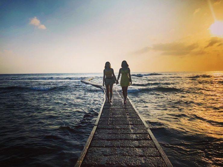 大白沙海灘